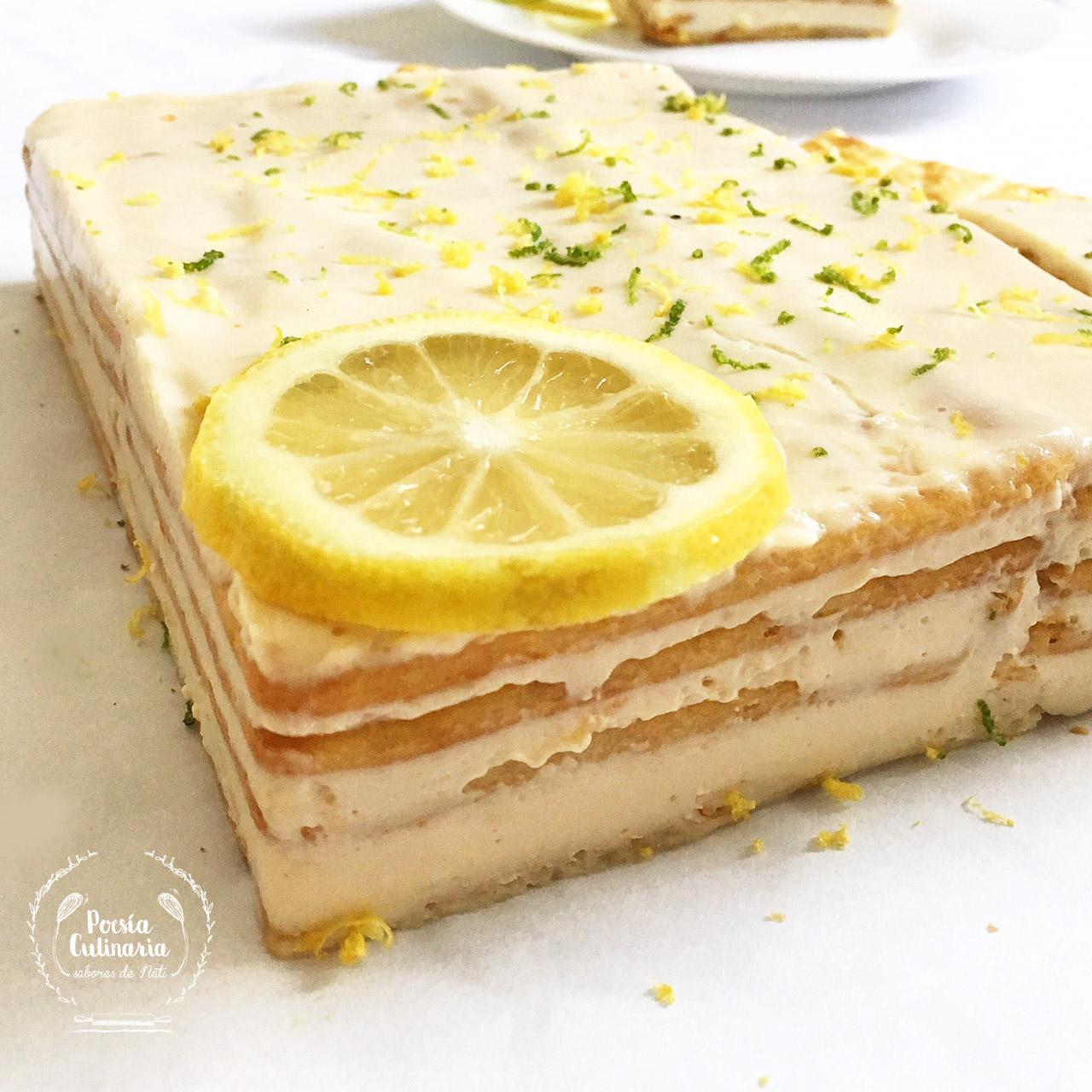 Poesía Culinaria Sabores De Nati Postre De Limón Y Galletas Un Clásico De Casa