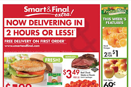 Smart and Final Weekly Ad April 11 - 17, 2018