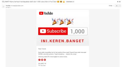 Cara mendapatkan 1000 subscribe dengan cepat dan aman