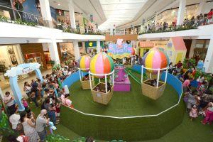 Shopping ABC recebe evento Peppa Pig