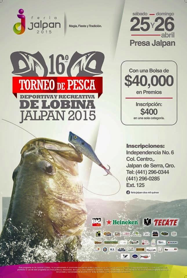 torneo de pesca presa jalpan 2015
