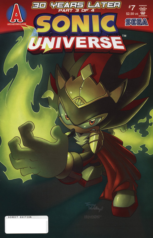 Read online Sonic Universe comic -  Issue #7 - 1