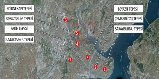 """İstanbul'a Neden """"Yedi Tepe"""" Denilmiş?"""