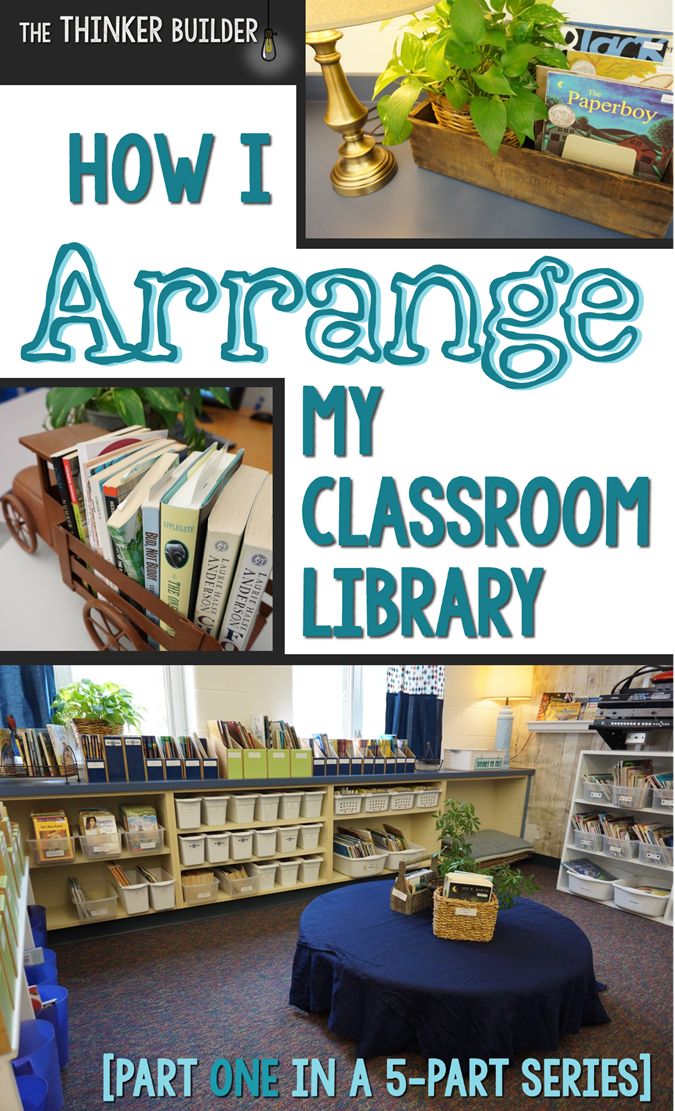 Arranging my classroom library is fun for me. I used to be an architecture major in college (you can read the drama of that story here) so I get a kick out ... & How I ARRANGE My Classroom Library [Part One in the Classroom ...