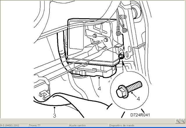 Saab ledningsdiagram