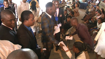 Youth corper turn millionaire after visiting Apostle Johnson Sulema