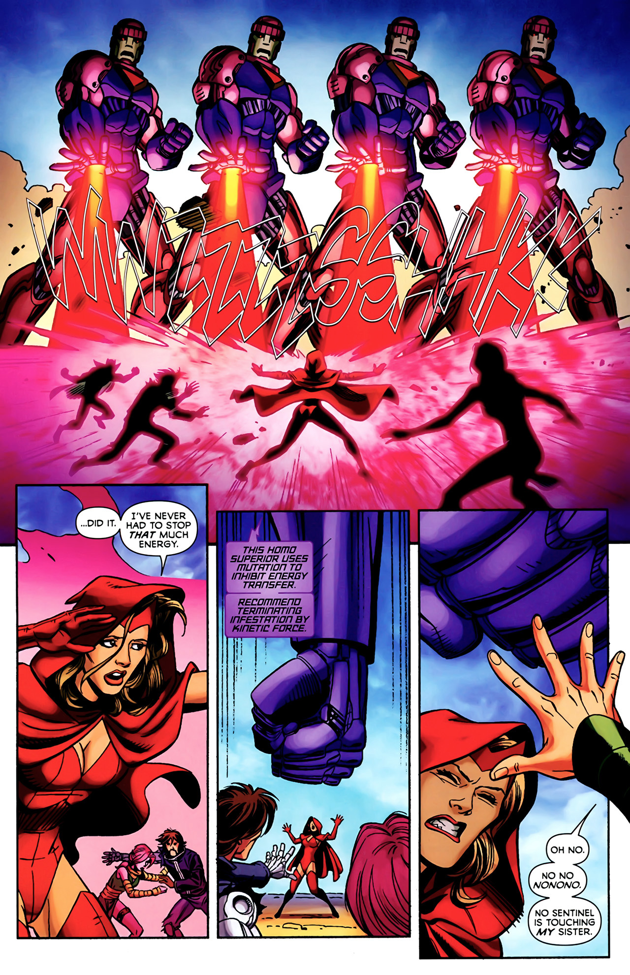 Read online Exiles (2009) comic -  Issue #4 - 7