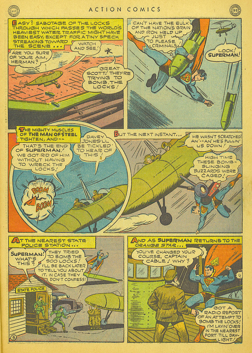 Read online Action Comics (1938) comic -  Issue #91 - 7