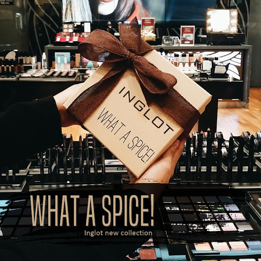 INGLOT launches WHAT A SPICE! collection