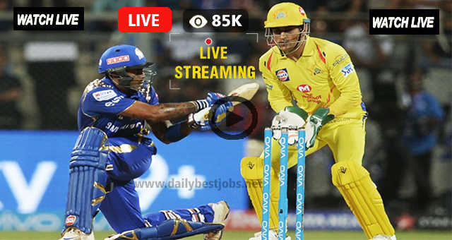 CSK vs MI Live Streaming IPL Match to Watch Online
