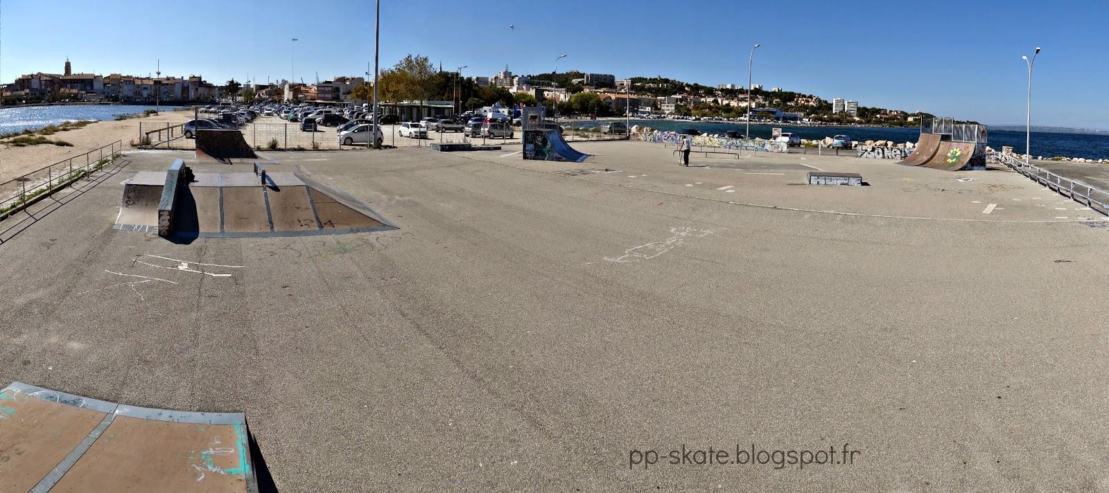 skate park Martigues