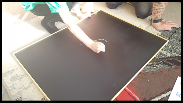 Chalkboard Paint portable board