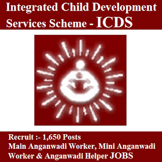 Integrated Child Development Services Scheme, ICDS Tirunelveli, ICDS, ICDS Admit Card, Admit Card, icds logo