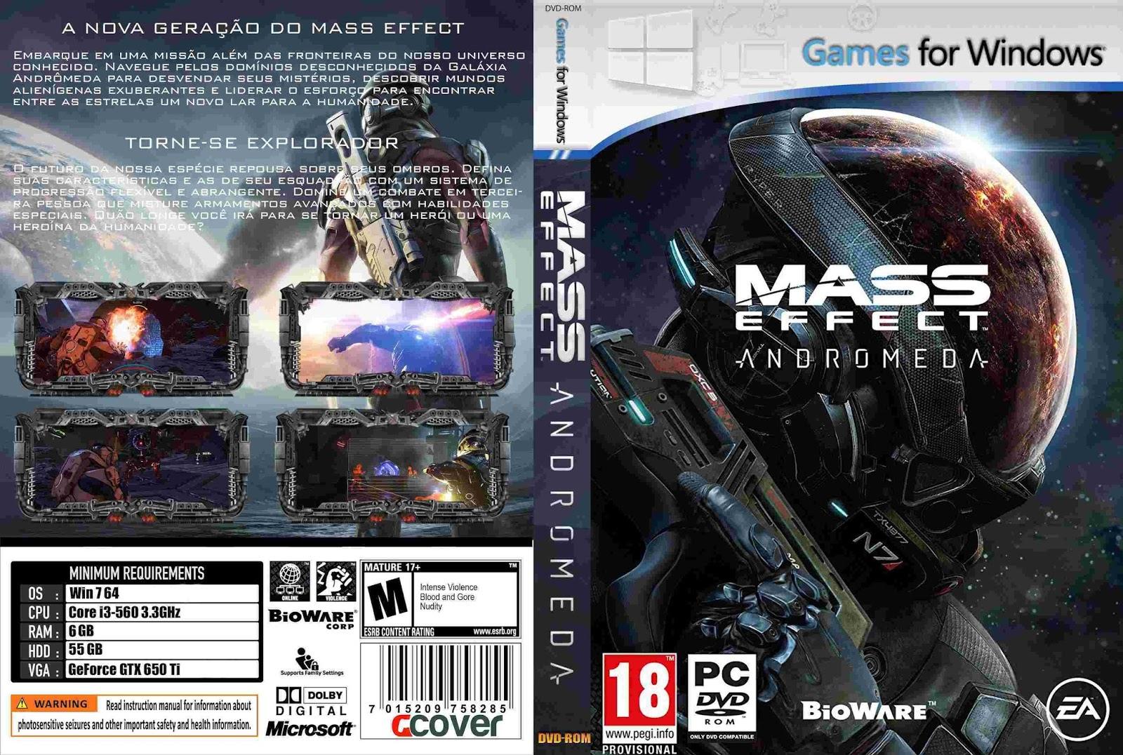 (Denys182) Jual PC Games Murah: Mass Effect - Andromeda ...