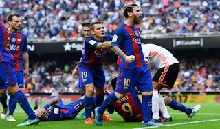 Menanti Ketajaman Messi dan Suarez Lawan Valencia