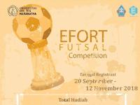 Kompetisi Futsal Tingkat Jawa Barat 2018 di Universitas Kristen Maranatha