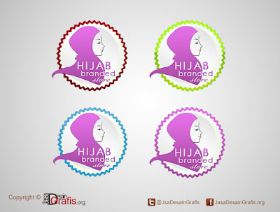 Logo Hijab Branded Store