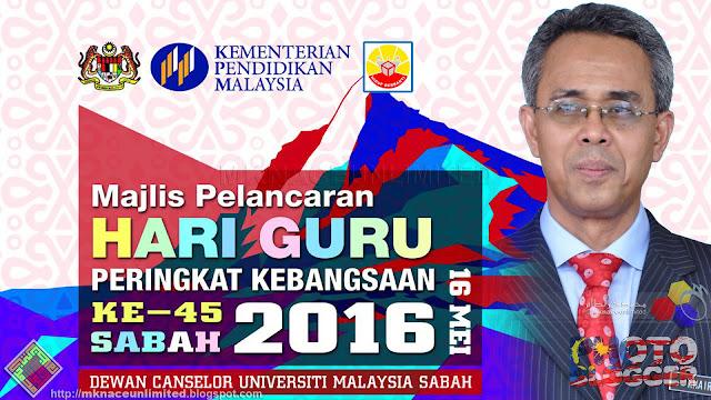 TEKS PERUTUSAN HARI GURU TAHUN 2016 OLEH KETUA PENGARAH PELAJARAN MALAYSIA