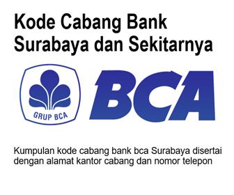 kode cabang bca surabaya