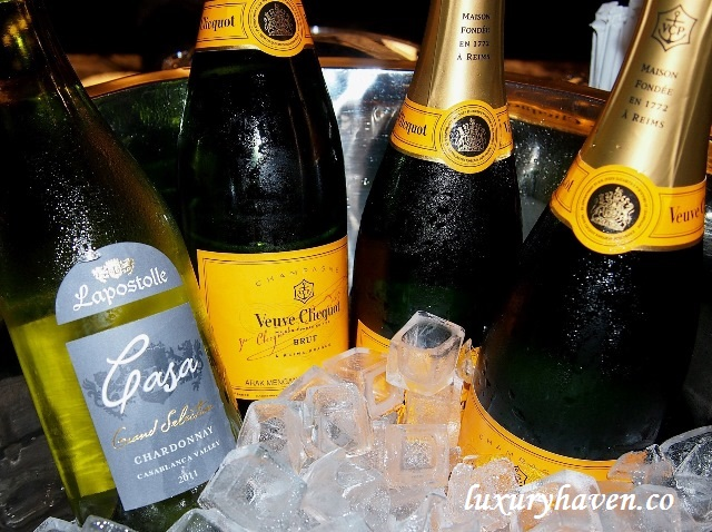 grand park orchard crystal club champagne wines
