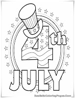 4th of july coloring pages for preschoolers