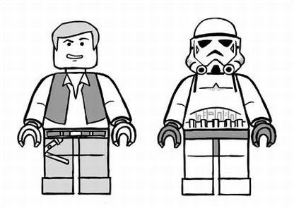 Colorindo E Desenhando Lego Para Colorir