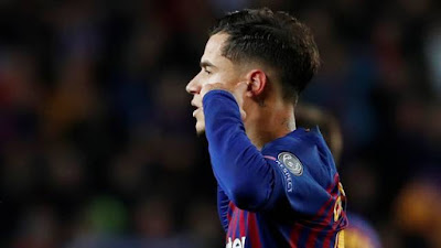 Philippe Coutinho, Barcelona x United (Foto: REUTERS/Susana Vera)