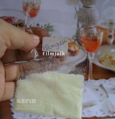 Filmjölk - receba a semente em sua casa.