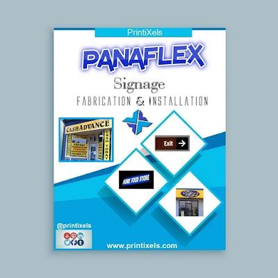 Panaflex Signs