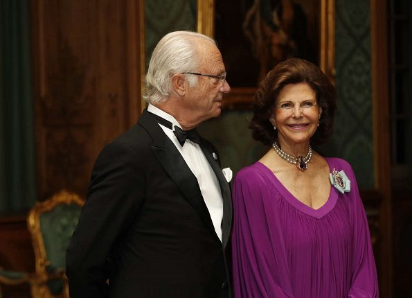 Queen Silvia, Prince Daniel and Prince Carl Philip, Crown Princess Victoria Jewelry Charlotte Bonde Sophie Petite Earrings, Valentino cluth bag, white dress