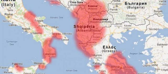 Μετά την εκχώρηση της Μακεδονίας στα Σκόπια έρχεται ο εφιάλτης της «Μεγάλης Αλβανίας»