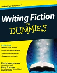 Portada de Writing Fiction for Dummies, de Randy Ingermanson y Peter Economy