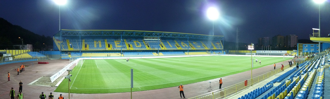 """Image result for Stadionul Municipal """"Gaz Metan"""""""