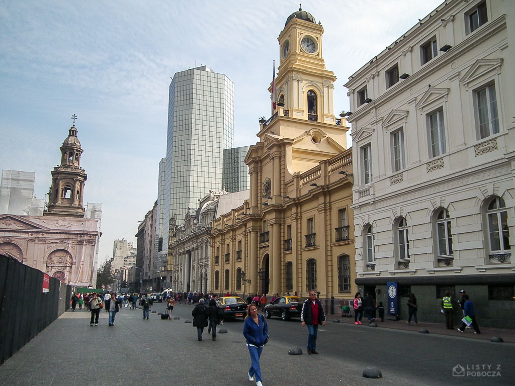 Plaza de Armas w Santiago de Chile