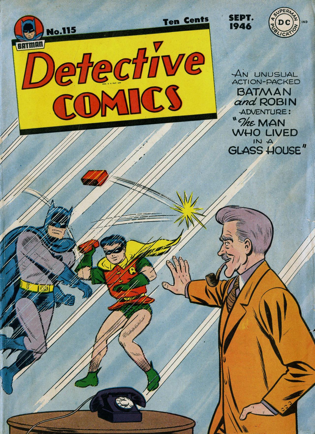 Detective Comics (1937) 115 Page 1