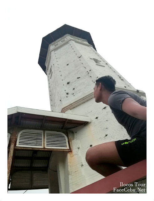 Cape Bojeador Lighthouse In Burgos Ilocos