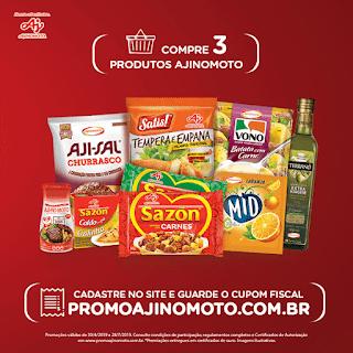Promoção Ajinomoto alimenta seus Sonhos - Blog Top da Promoção @topdapromocao #promoção #sorteio #sorte #prêmios #sazon #ajinomoto