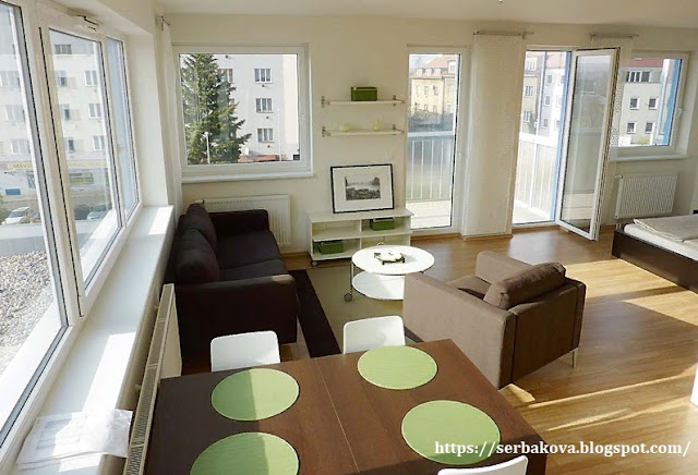 Продуманная планировка квартиры студии обеспечила все необходимое