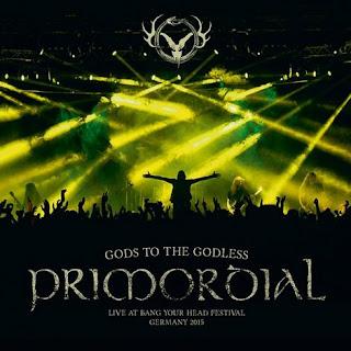 """Η """"ζωντανή"""" ηχογράφηση του τραγουδιού των Primordial """"Gods to the Godless"""" από τον ομότιτλο live δίσκο"""