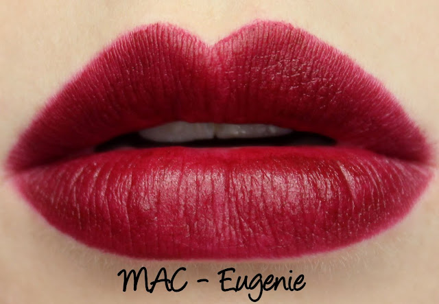 MAC Giambattista Valli - Eugenie Swatches & Review