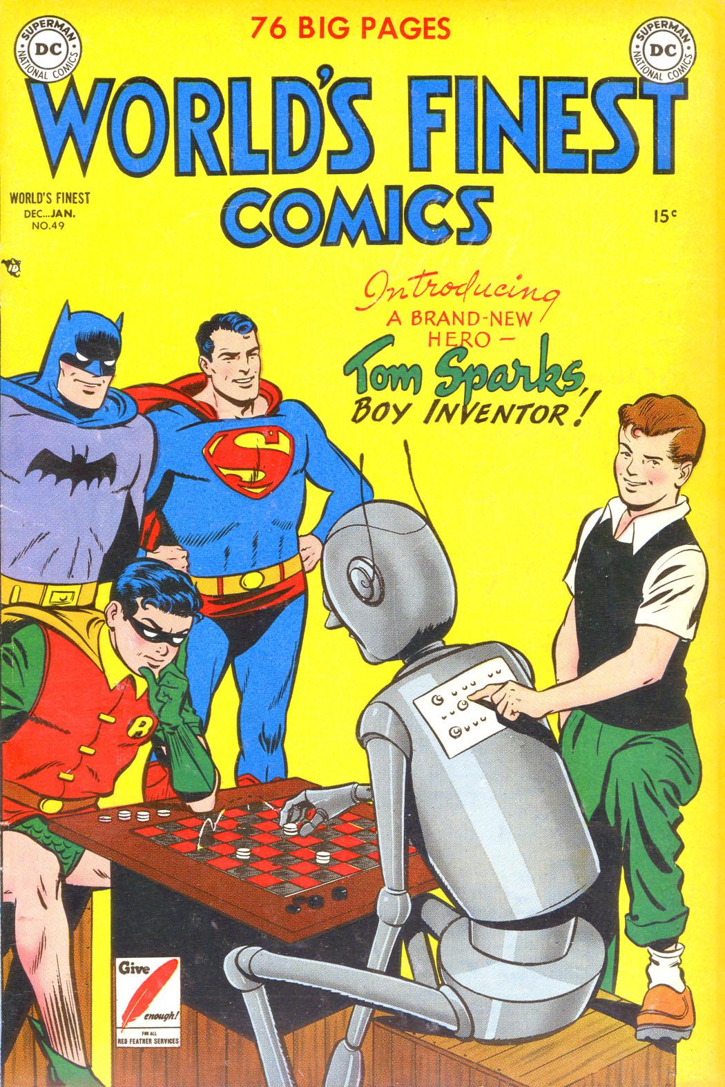 Read online World's Finest Comics comic -  Issue #49 - 1