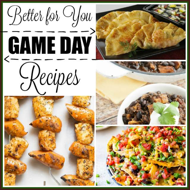 Better for You Game Day Recipes