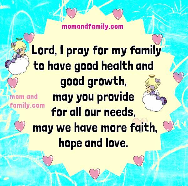 Short Family Prayer Golfclub
