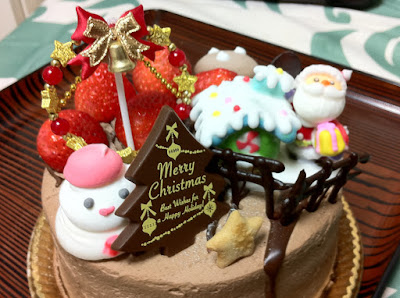 Christmas Cake in Japan