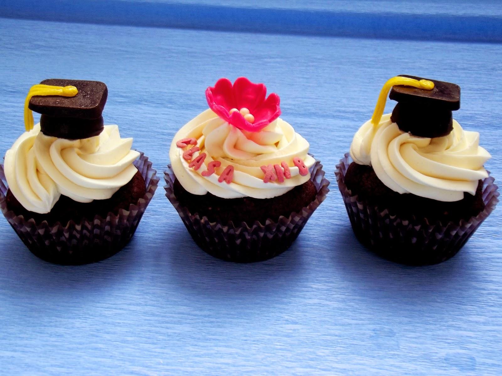 Cupcakes de absolvire liceu