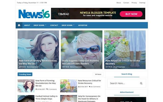 blogger theme