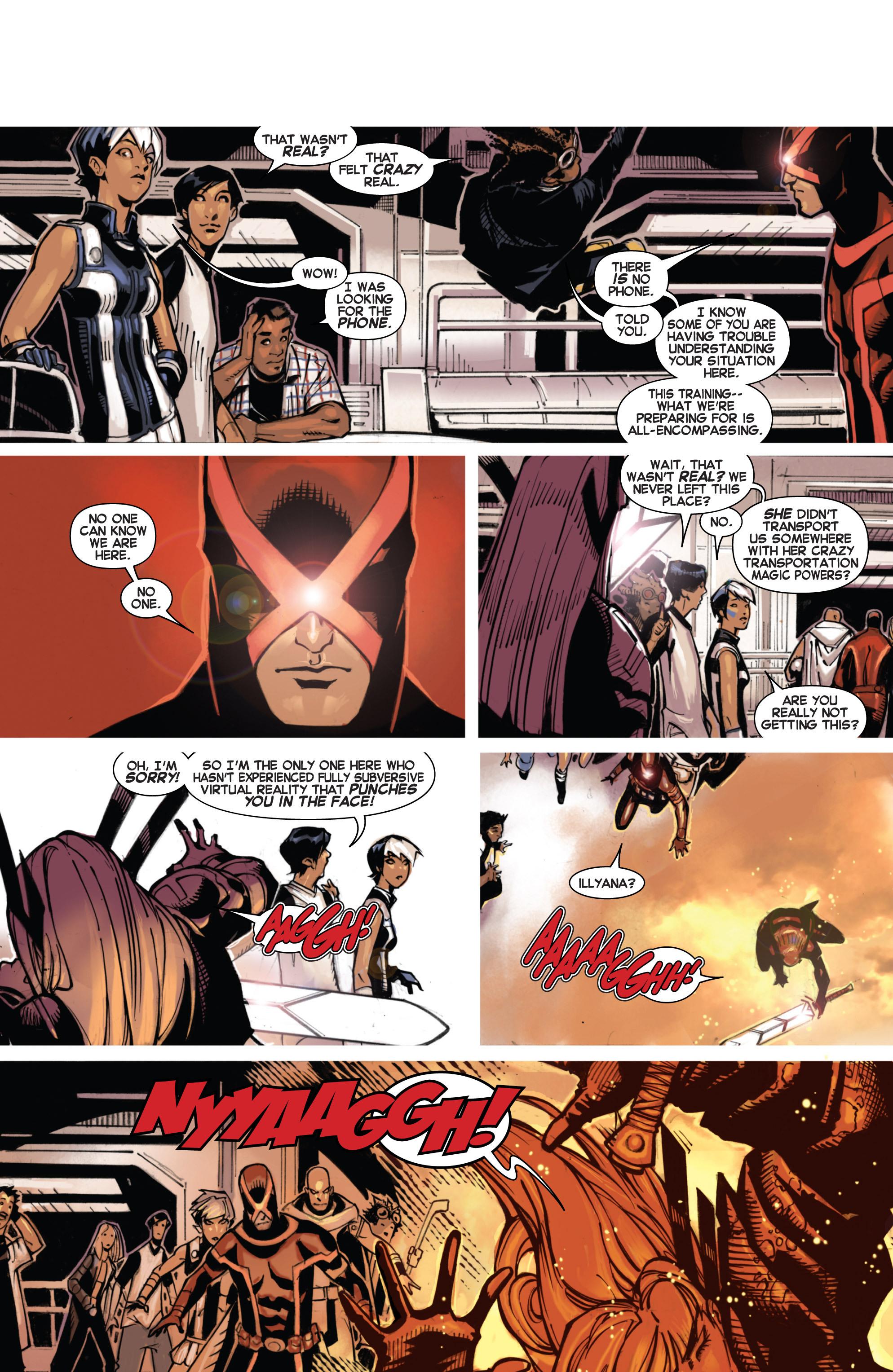 Read online Uncanny X-Men (2013) comic -  Issue #4 - 15