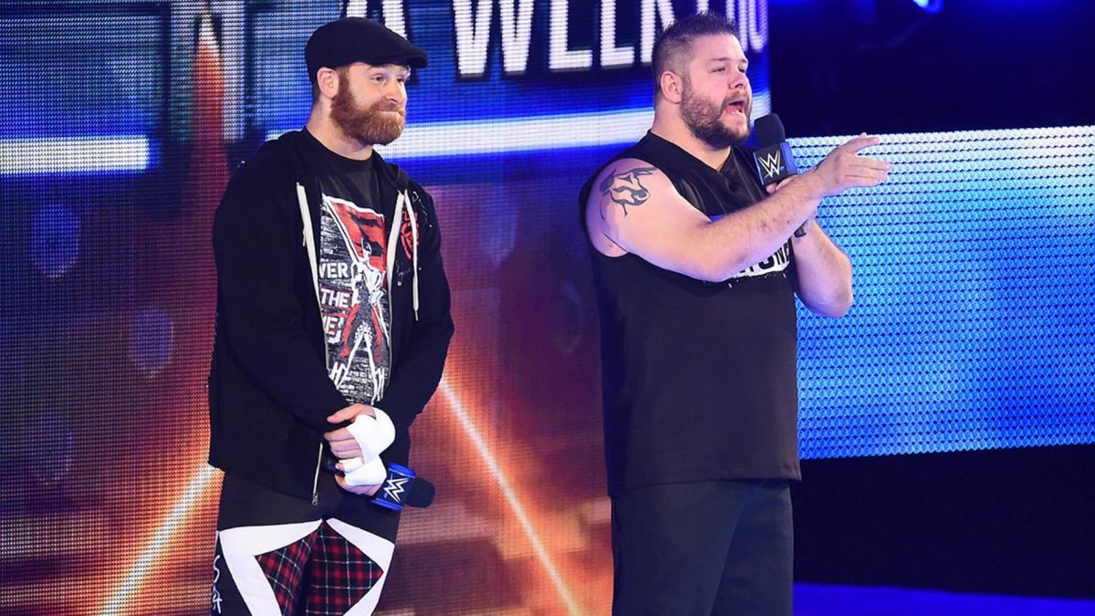 Kevin Owens reage à vitória de Sami Zayn no Elimination Chamber