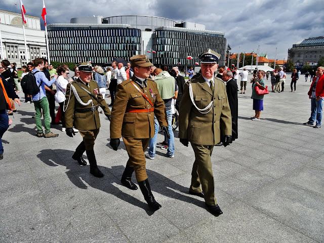 żołnierze Warszawa