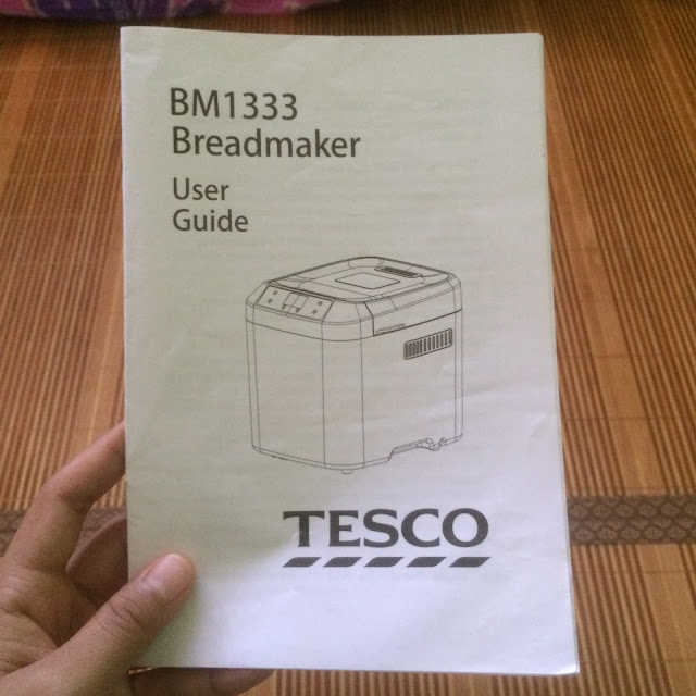 bread maker user guide